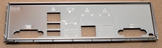 The back connector panel.